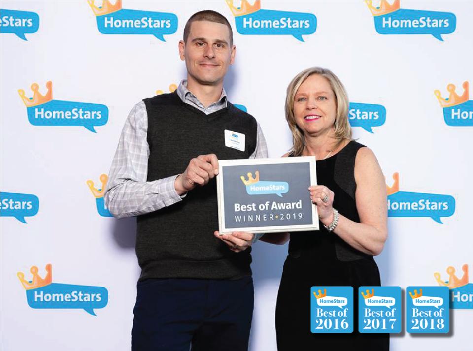 Best of 2018 Homestars
